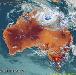 HAARP ? Strange Weather Radar Events in Australia lead to new Low